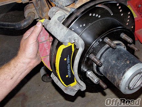 brake pad brake rotors